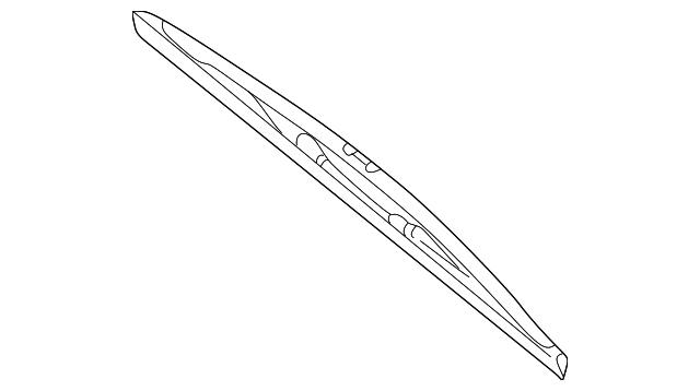 Genuine Bmw Wiper Blade 61