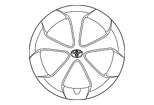 Wheel Cover - Toyota (42602-47060)