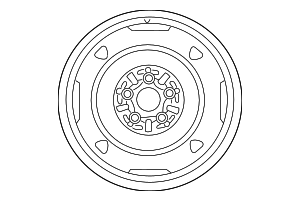 Wheel, Spare - Toyota (42611-20A50)