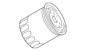 Oil Filter - Land-Rover (ERR3340-FP)