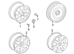 Wheel, Alloy - Mercedes-Benz (6-6-47-4120)