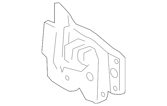 6L5Z-16700-AA Hood Latch Assembly