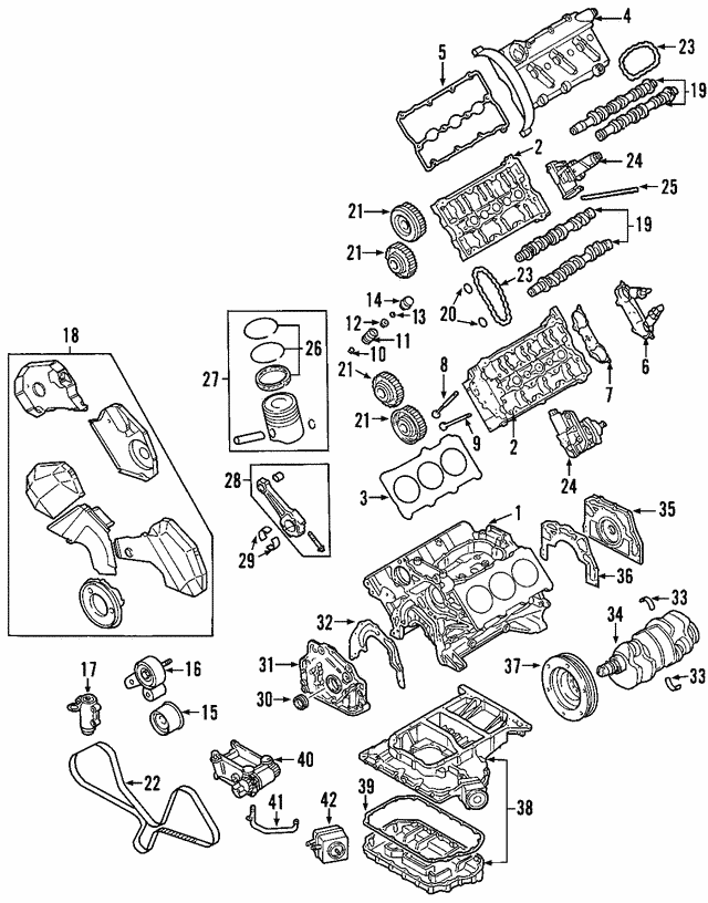 Inner Timing Cover - Audi (06C-109-196-B)