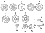 Wheel, Alloy - Toyota (42611-AD041)