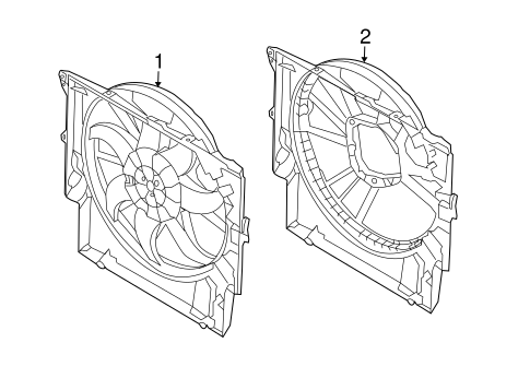 Cooling Fan For 2012 Bmw 335i