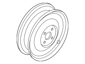 Wheel, Alloy - Nissan (40300-9BP9A)