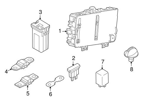 oem fuse relay for 2008 saturn astra. Black Bedroom Furniture Sets. Home Design Ideas