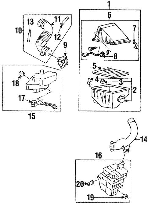 1994 Nissan Altima Engine Diagram - Wiring Diagram Schema