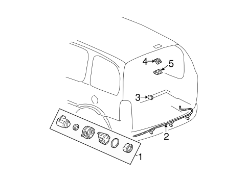 Electrical Components For 2001 Chevrolet Venture