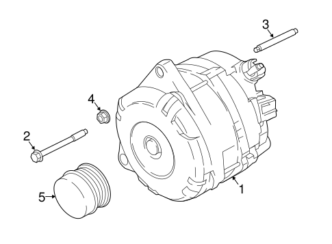 Alternator For 2019 Ford Expedition