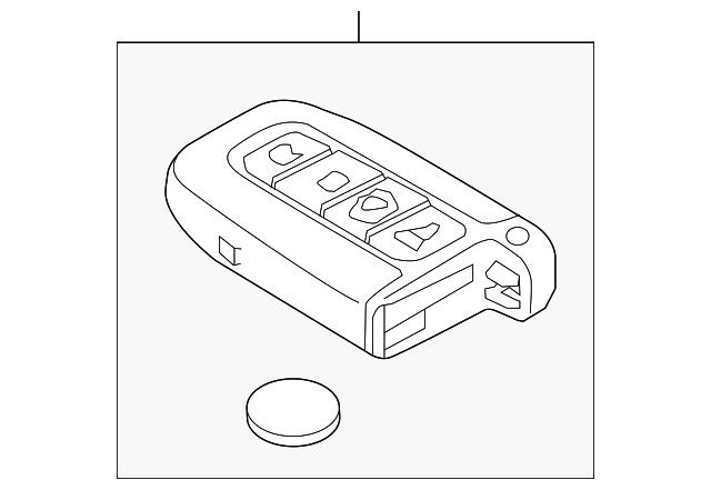 genuine oem remote control part  95440