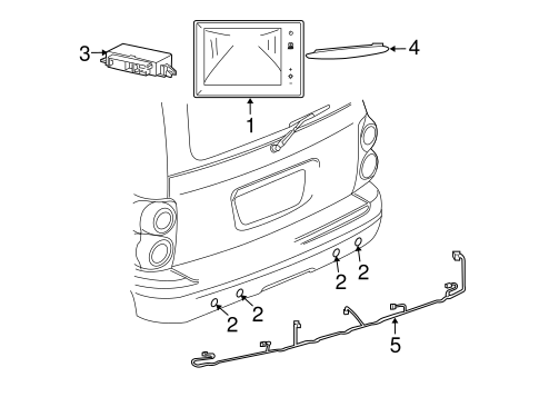 Electrical Components For 2007 Chrysler Aspen