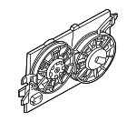 Fan Assembly - Ford (3S4Z-8C607-A)