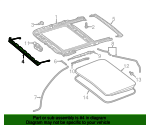 Air Deflector - Mercedes-Benz (253-780-32-00)