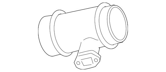 2001 2011 Audi Mass Air Flow Sensor 077 133 471 J