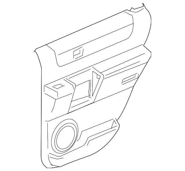 door trim panel