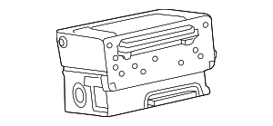 Radio Control Unit - Mercedes-Benz (205-900-11-33-80)