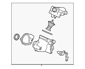 Thermostat Housing - GM (12639905)