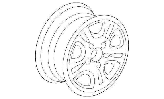 disk  aluminum wheel  16x6 1  2jj   hitachi
