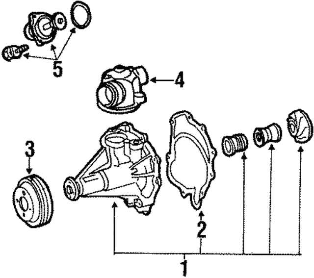 Pulley - Mercedes-Benz (119-202-01-10)