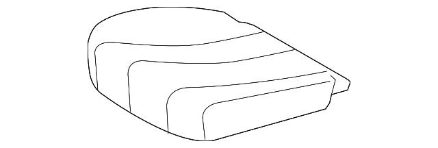 TOYOTA Genuine 71072-08030-B0 Seat Cushion Cover