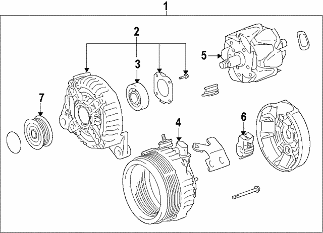 Alternator - Toyota (27060-20310-84)
