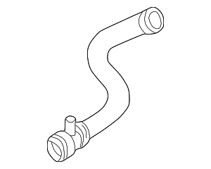 Radiator Coolant Hose - BMW (11-53-1-703-844)