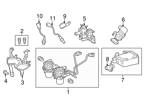 Emission Components for 2018 Toyota Tundra #0
