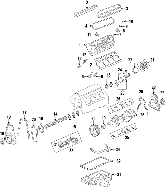 Genuine OEM 2016-2018 Chevrolet Camaro Crank Pulley
