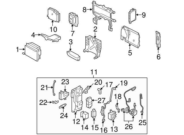 Honda Genuine 78200-SVA-A33 Combination Meter Assembly
