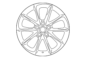 Wheel, Alloy - Lexus (42611-11120)