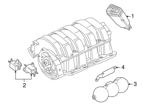 Emission Components For 1997 Audi A8 Quattro