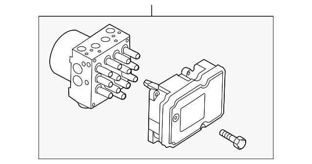 Ford DB5Z-2C219-A ABS Control Module