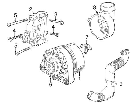 Alternator For 2000 Bmw Z3