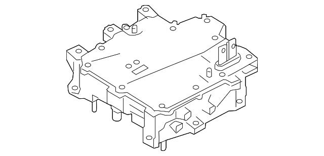 2018 2019 Nissan Leaf Inverter Assembly 291a0 5sa1a
