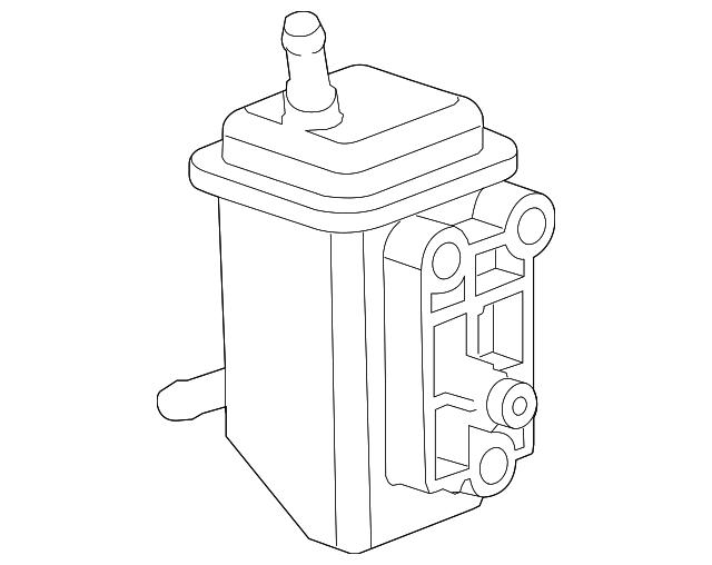 power steering pump reservoir