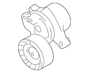 Accessory Drive Belt Tensioner Assembly - Subaru (23769AA080)