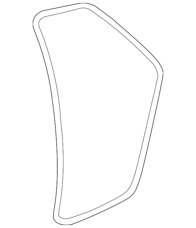 Genuine Chrysler 4717721AA Door Weatherstrip