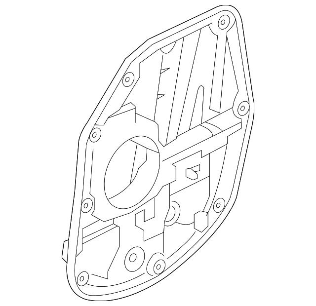 2012 2015 Kia Optima Window Regulator 83481 4c000