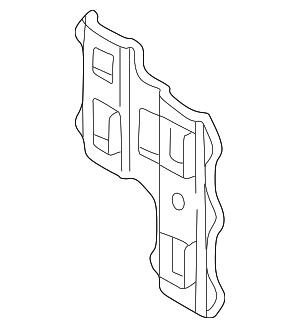 Bracket - Mercedes-Benz (210-637-04-14)