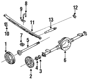 Axle Housing U-Bolt