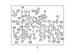 Heater Unit Assembly / VIN Required - Subaru (72110AG07B)