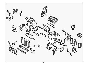Heater Unit Assembly / VIN Required - Subaru (72110AG08A)