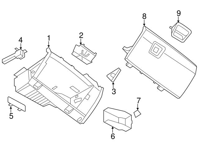 Bmw X6 Glove Box Fuse
