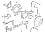 Brake Shoes Hardware Kit