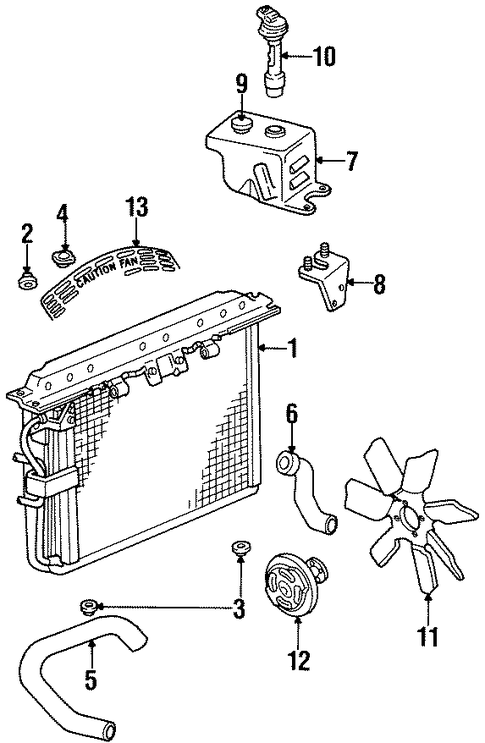 Jeep Cooling System