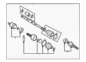 Axle Assembly - Nissan (39101-5Y810)
