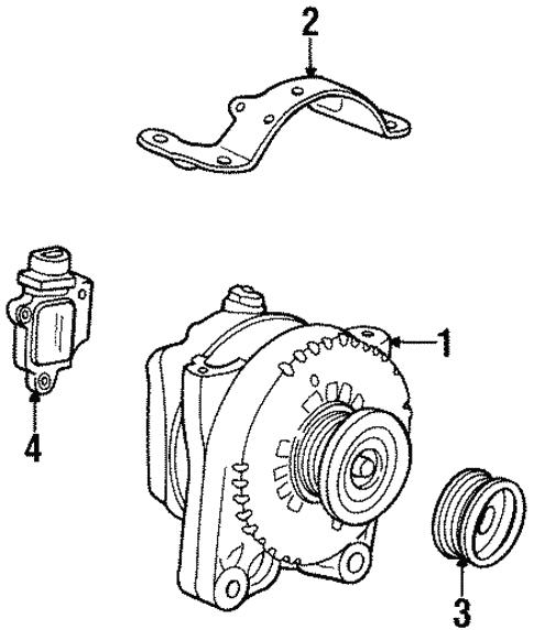 Alternator For 1997 Lincoln Continental