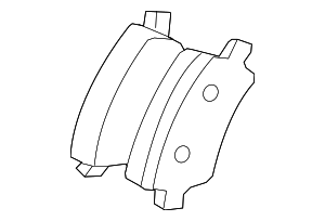 Disc Brake Pad Set - Volvo (31408670)