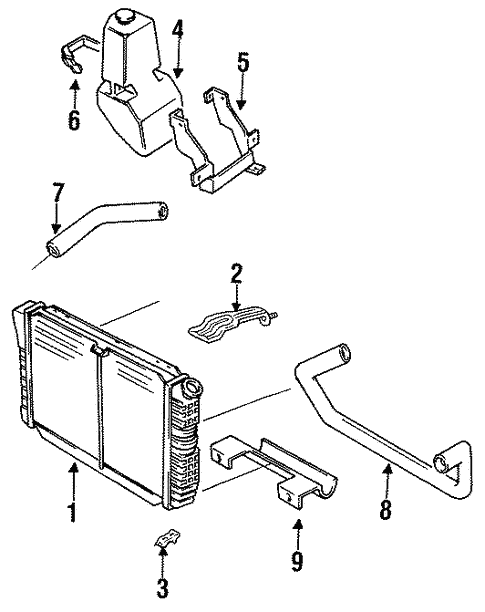 Ford Mustang Cooling System Diagrams